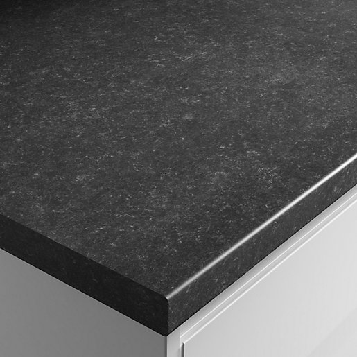 Wickes Textured Laminate Worktop Lima Granite Effect 600mm X 38mm X 3m