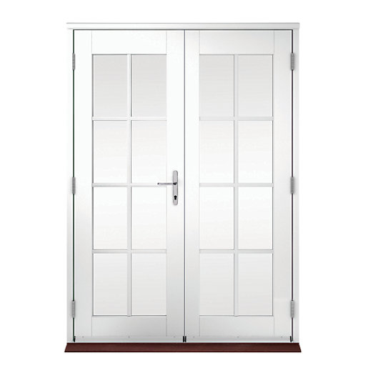 4 Ft Exterior French Doors