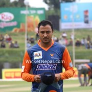 Vishal Warriors Captain Paras Khadka