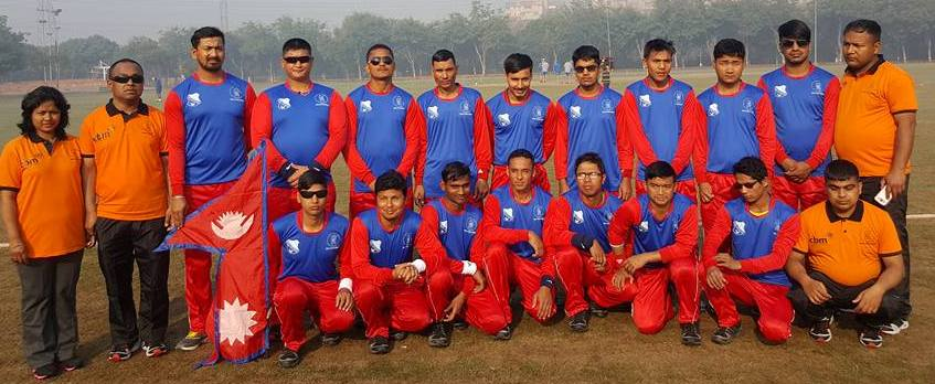 nepal blind cricket team