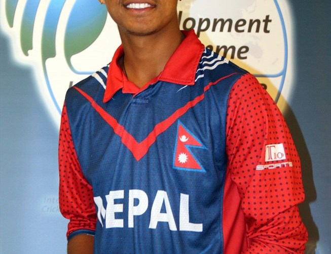 Sandeep Lamichhane Player of the series
