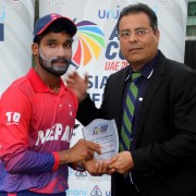 Player of the match Dipendra Airee