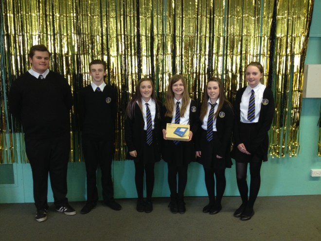 Our winning team after their success on Friday in the Highland 'Apps For Good' Final