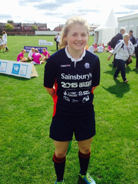 Katie Mackay, our Scotland cap!