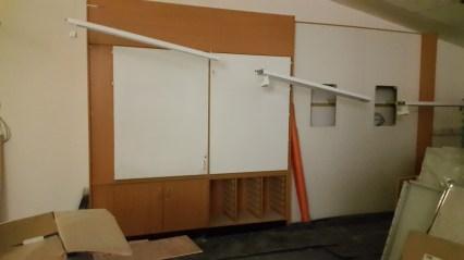 Nursery learning wall