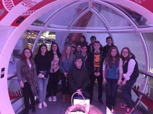 Some of our group on The London Eye