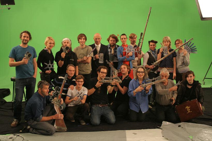 Filmteam Pappkameraden