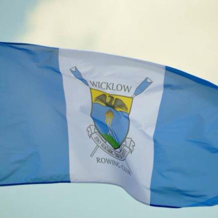 Wicklow Rowing Club flag and crest