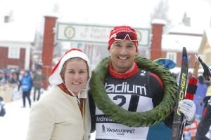 Andreas Nygaard, vinnare Vasaloppet 2018.