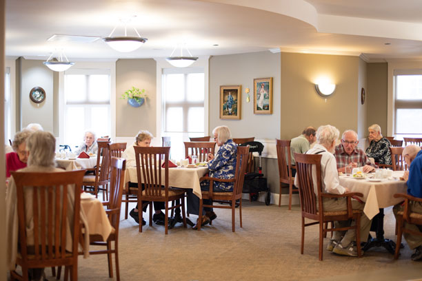 Wickwire Place Dining Room