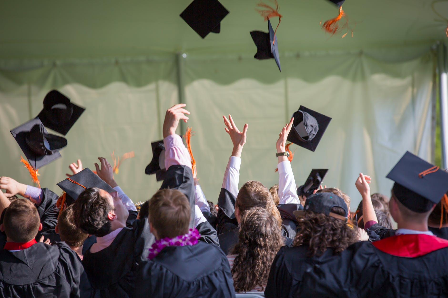 photography of people graduating