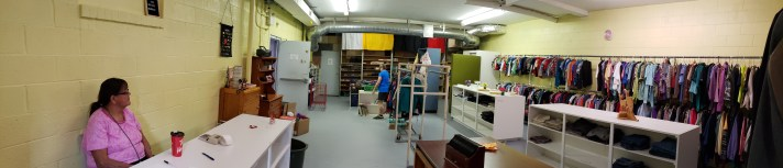 Thrift store panoramic