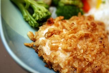 Dream Dinners Crispy French Onion Chicken