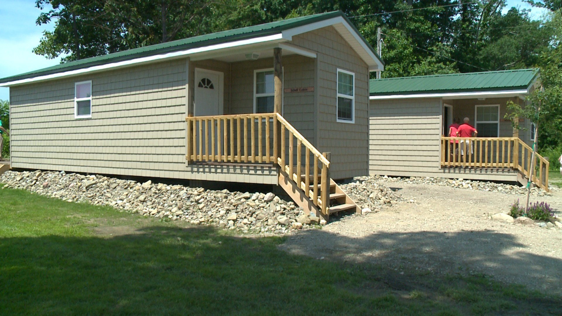New Cabins At Camp Sherwin Erie News Now WICU And WSEE