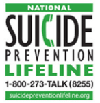 No matter what problems you are dealing with, we want to help you find a reason to keep living. By calling 1-800-273-TALK (8255) you'll be connected to a skilled, trained counselor at a crisis center in your area, anytime 24/7.