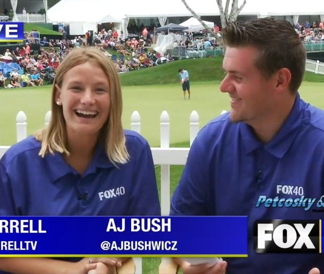 Recap Of Round 1 In Dicks Sporting Goods Open Fox 40 Wicz Tv News Sports Weather Contests More
