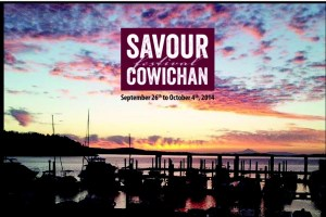 2014 Savour Cowichan Festival: September 26 - October 4, 2014.