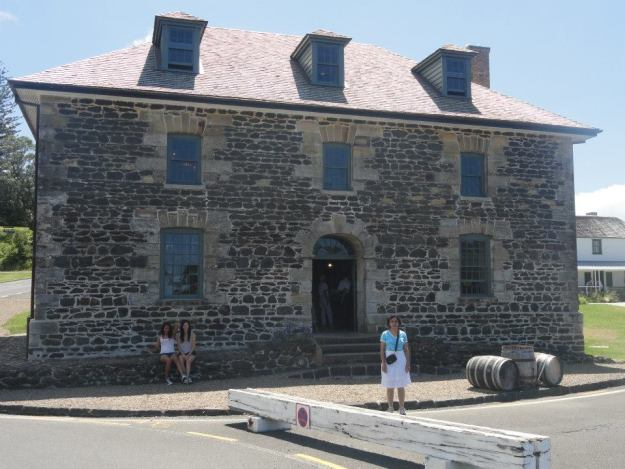 27At Kerikeri - the Stone Store, the oldest stone building in NZ