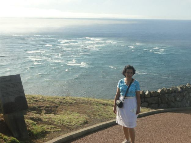 38. The turbulence created by the meeting of the Pacific ocean with the Tasman Sea