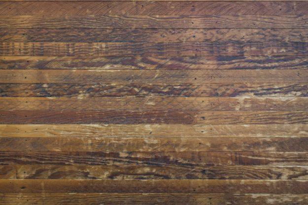 Wide plank flooring trend #1: Reclaimed wide plank floors