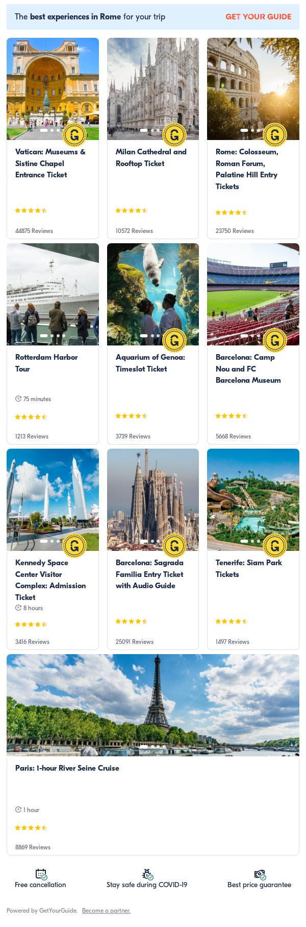 dubai: Get Your Guide