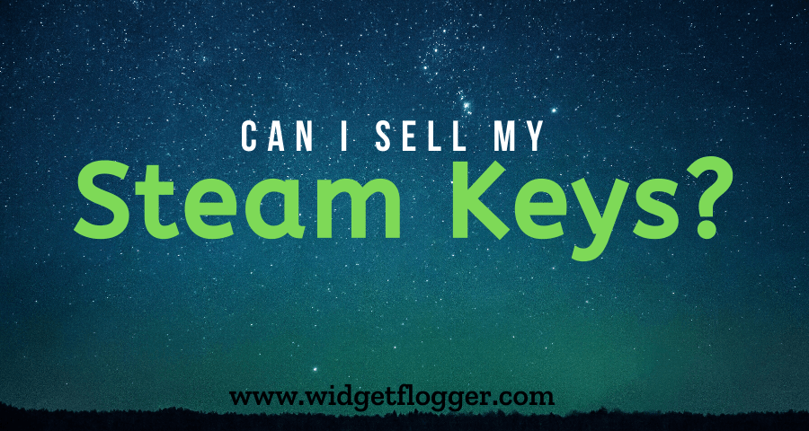 Can I sell my Steam Keys