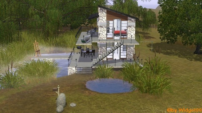 EA-Umbau Lift-Loft – Sims 3