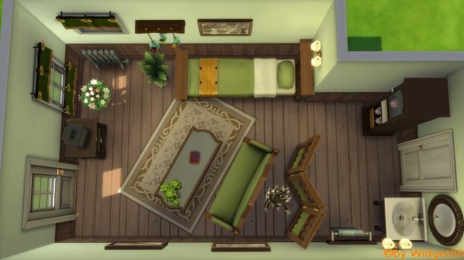 Grandma's Landhaus-Raum – Communityprojekt von SimFans