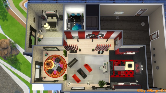 Rack-Apartment