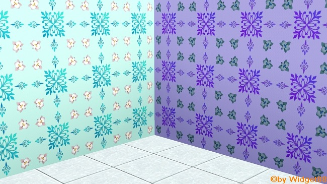 Florales Ornament 3 – Muster Sims 3