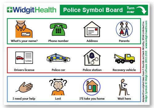 Police Symbol Board
