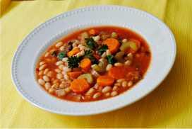 Resep Fasolada Soup Khas Yunani Sedap Mantap