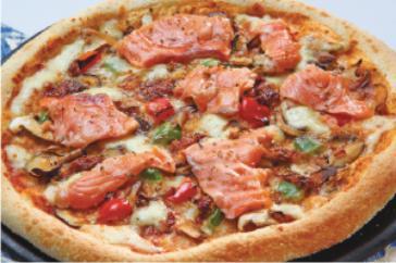 Resep Pizza Salmon yang Enak Sekali