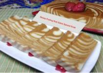 Resep Puding Roti Zebra Spesial Enak