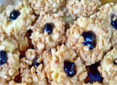 Resep Blueberry Thumbprint Cookies Renyah