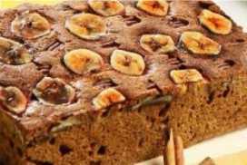 Resep Cake Pisang Kenari yang Lembut