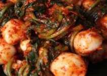 Resep Chonggak Kimchi Khas Korea yang Lezat