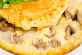 Resep Omelet Jamur yang Nikmat Banget