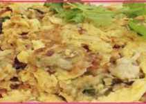 Resep Omelet Tiram Khas Taiwan yang Gurih