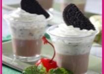 Resep Puding Coklat Lapis Oreo yang Enak