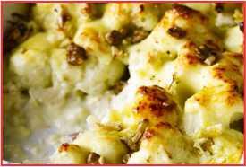 Resep Stilton Cauliflower Cheese yang Lezat