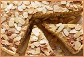 Resep Almond Pie Empuk dan Lembut