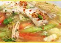 Resep Canh Chua Tom Spesial Nikmat