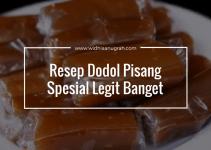 Resep Dodol Pisang Spesial Legit Banget