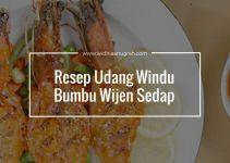 Resep Udang Windu Bumbu Wijen Sedap