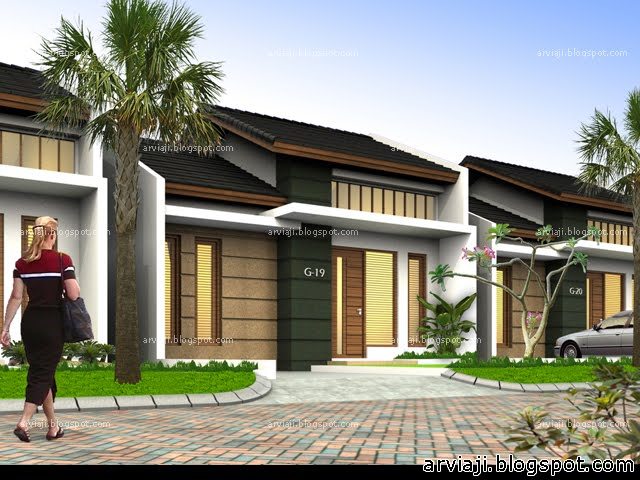 Desain Rumah Modern Minimalis 1 Lantai 2013 My Blog