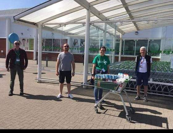 ASDA donated to our foodbank