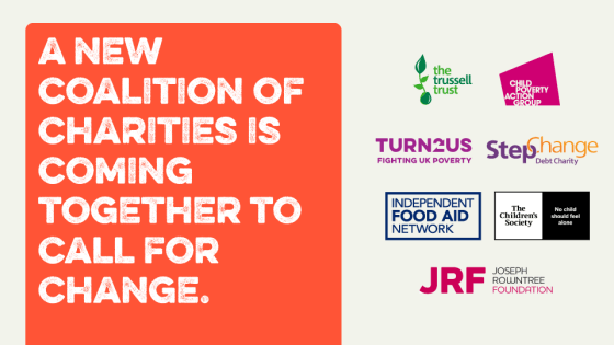 Coalition of charities coming together for change