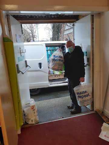 Volunteers from Widnes Foodbank