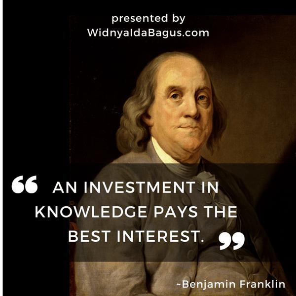 Kutipan Ben Franklin meningkatkan penghasilan